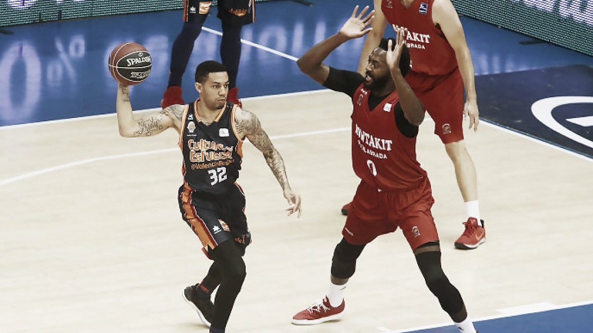 Green decidió el partido en favor de Valencia. Foto: ACB