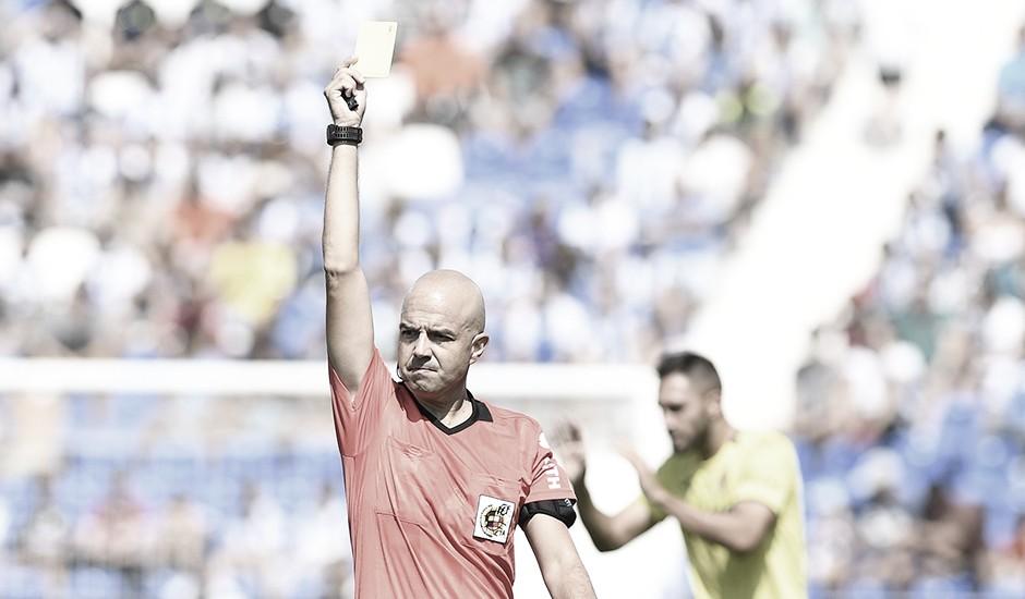 González Fuertes dirigirá la batalla del Bernabéu