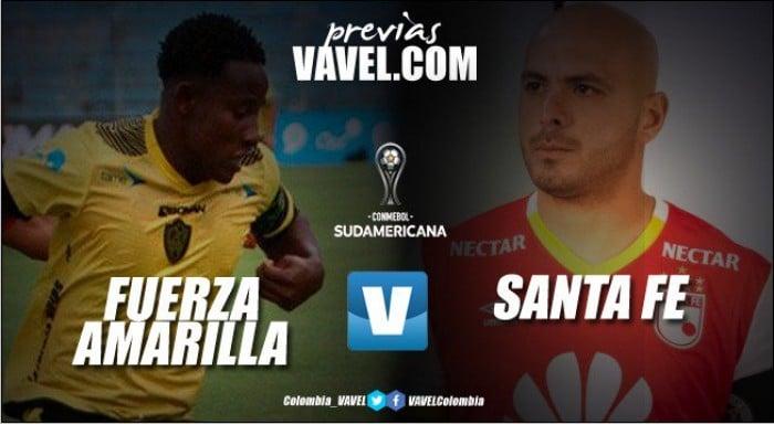 Gregorio Pérez debuta con Santa Fe en la Sudamericana