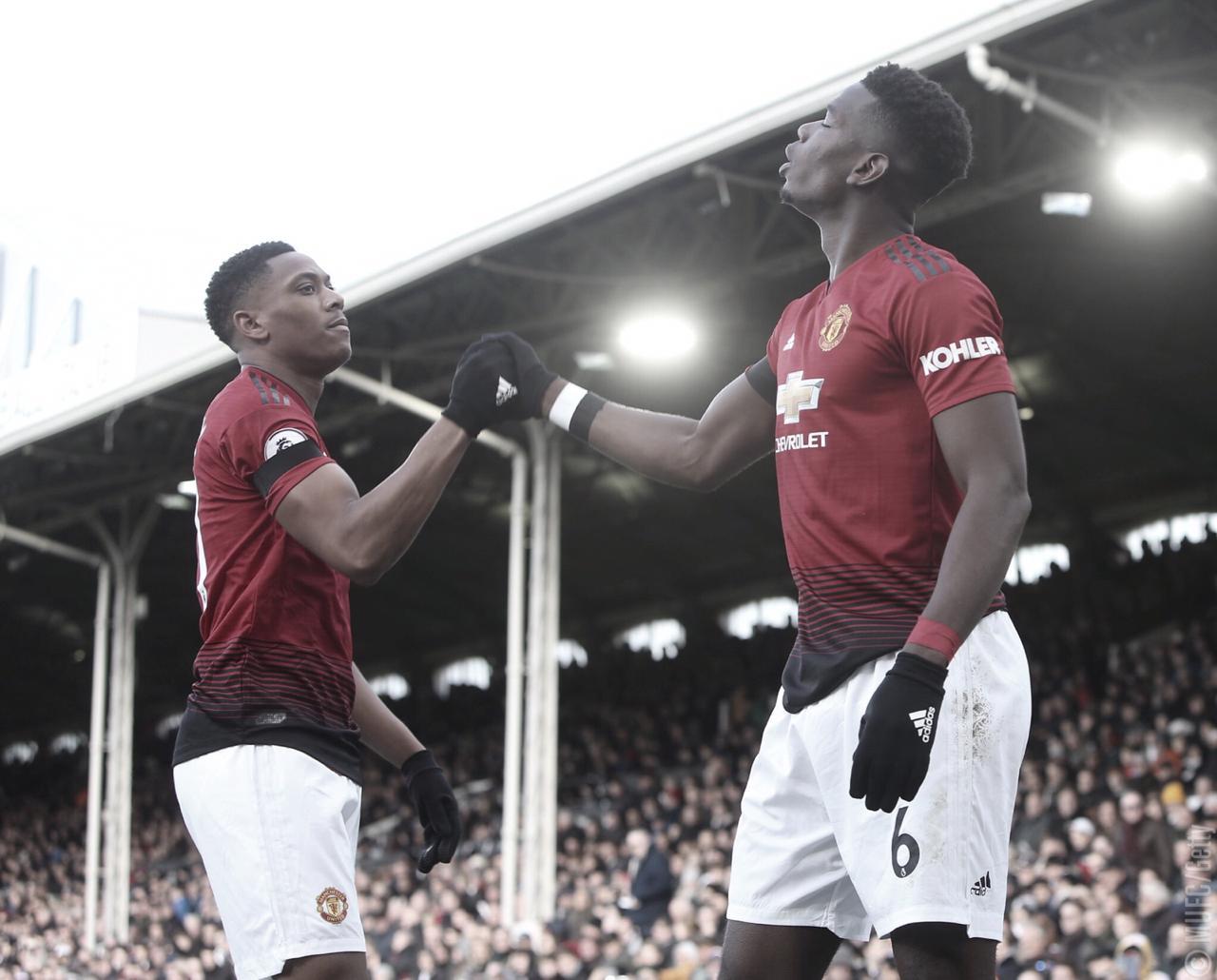United derrota Fulham e entra no G-4 da Premier League de forma provisória