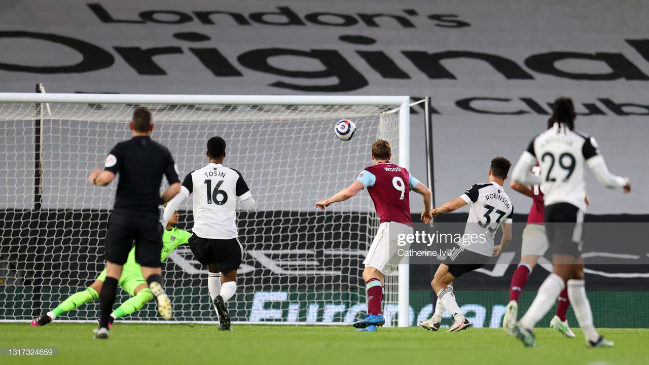 Fulham 0-2 Burnley: Cottagers relegated with a whimper