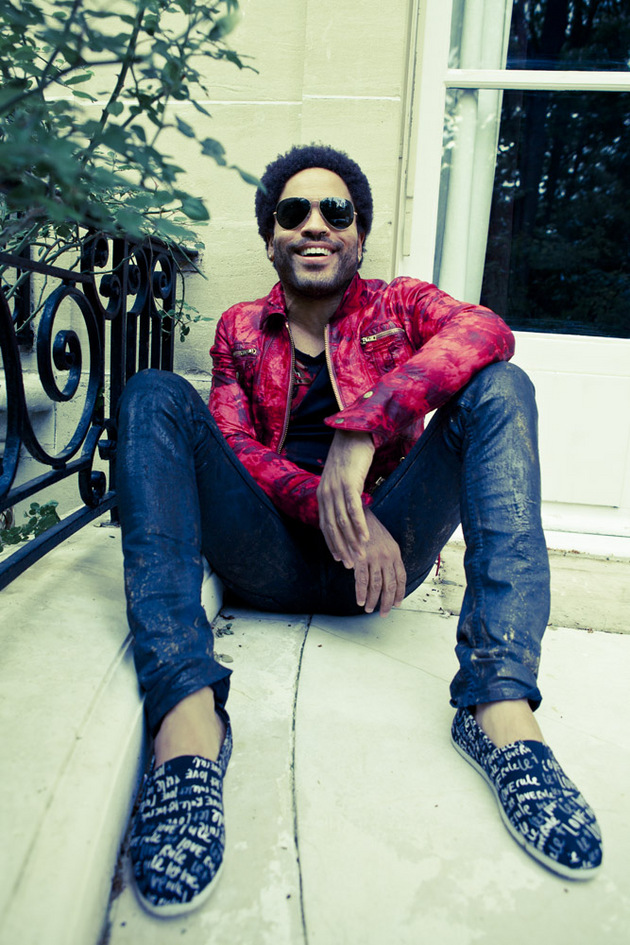 Lenny Kravitz diseña una colección de calzado para Toms