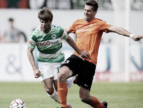 SpVgg Greuther Fürth 1-0 SV Darmstadt 98: Superb Stieppermann free-kick gives Kleeblätter vital win