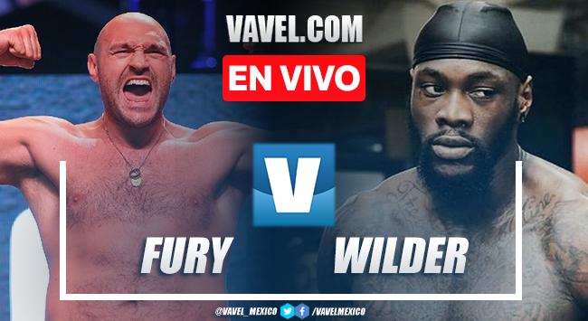Resumen de Tyson Fury vs Deontay Wilder en Box 2021