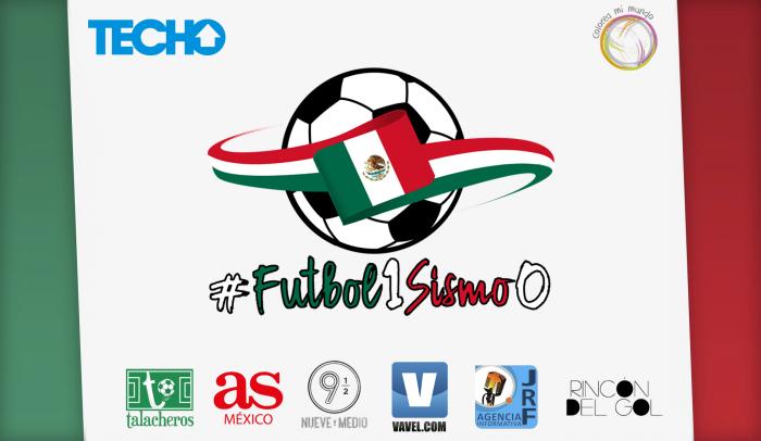 ¡Ayuda a reconstruir México con #Futbol1Sismo0!