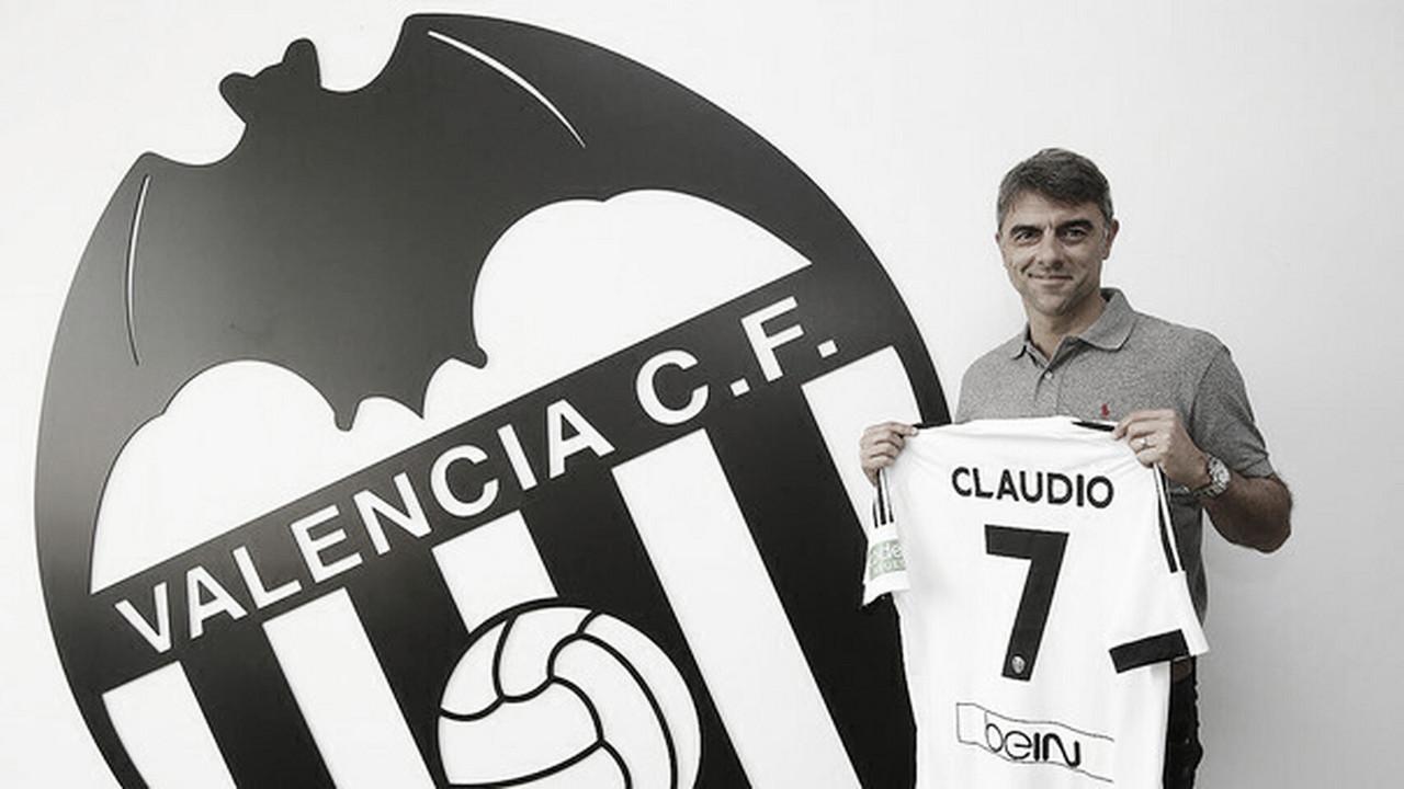 Claudio 'Piojo' López, un ídolo de Mestalla