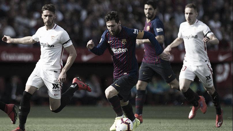 El más grande brilló en la victoria del Barcelona
