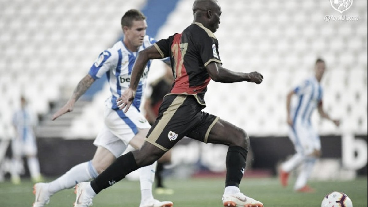 El Rayo Vallecano cae por dos goles a cero ante el Leganés