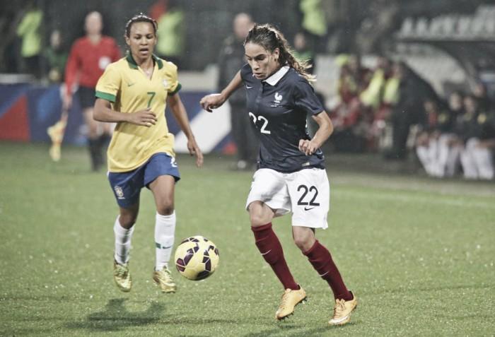 Seleção feminina do Brasil enfrenta francesas em amistoso internacional