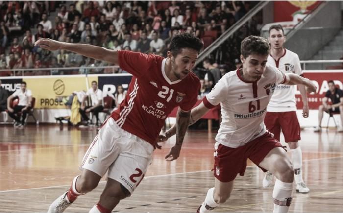 Braga vence Benfica e está na final — Futsal