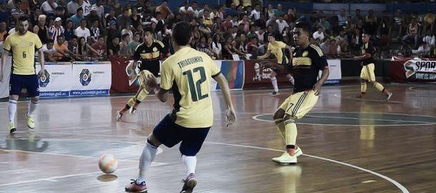Colombia perdió ante Brasil por la Copa América de Futsal