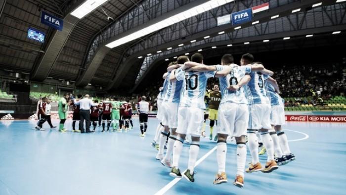 Resultado Argentina - Portugal en la semifinal del Mundial de Futsal 2016 (5-2)
