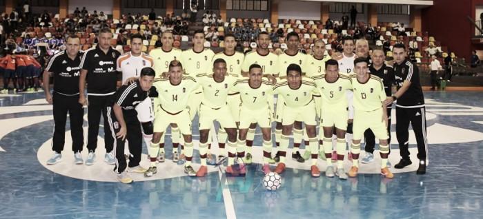 Venezuela comienza con el pie derecho en la Copa América de Futsal