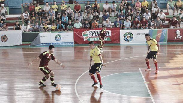 Colombia, a un paso de la clasificación en la Copa América de Futsal