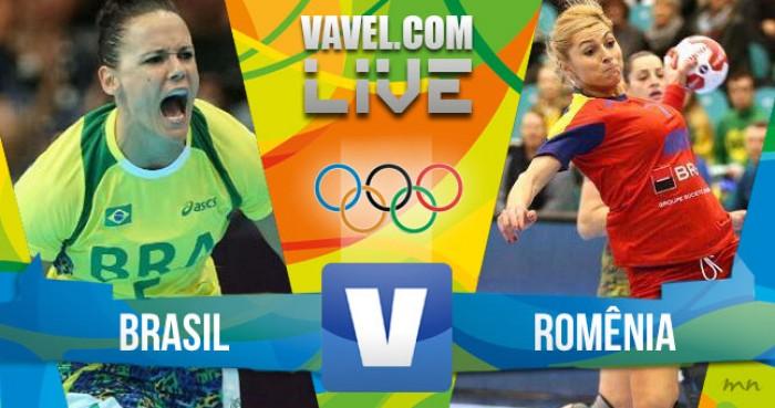 Brasil x Romênia no handebol feminino dos Jogos Olímpicos