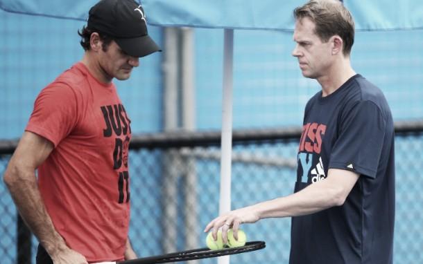 Federer parts ways with coach Stefan Edberg
