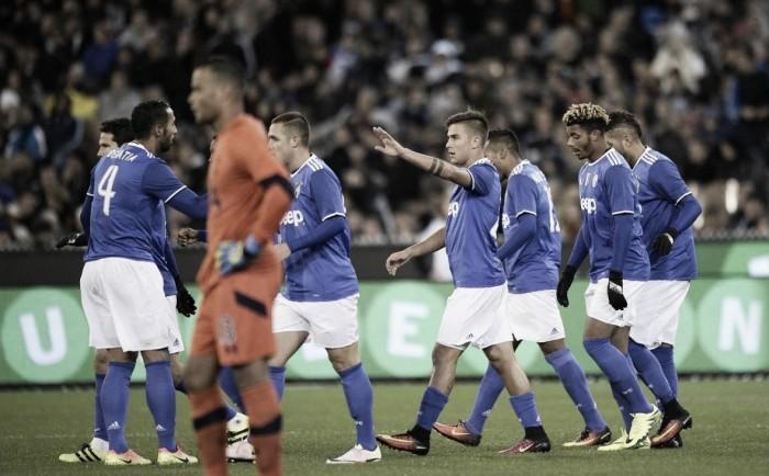 Juventus,tournée positiva: zero infortuni, Pjanic-Benatia in grande spolvero