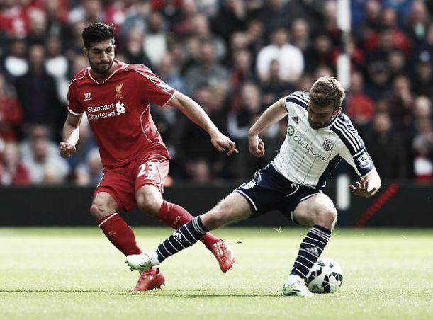 West Bromwich e Liverpool giocan solo un tempo: reti inviolate al The Hawthorns