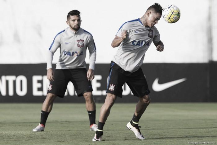 "Giovanni Augusto pede Corinthians intenso para clássico contra o Santos: ""Entrar ligado"""