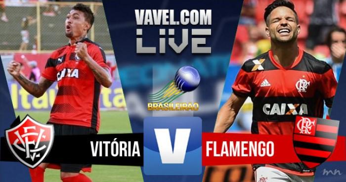 Resultado Vitória 1x2 Flamengo no Campeonato Brasileiro 2016
