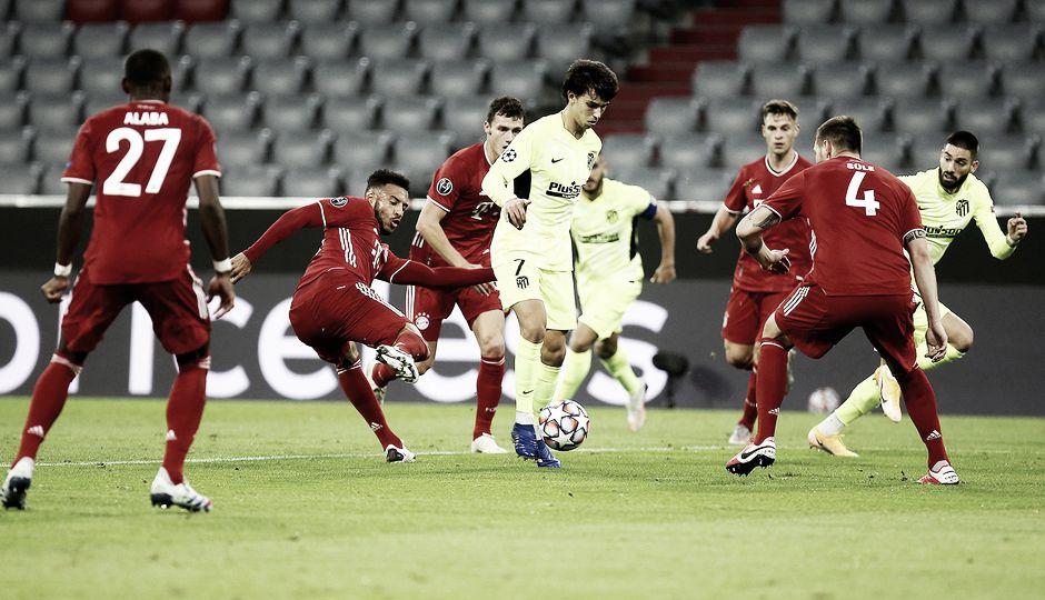Resumen Atlético de Madrid vs Bayern de Múnich (1-1) en la UEFA Champions League