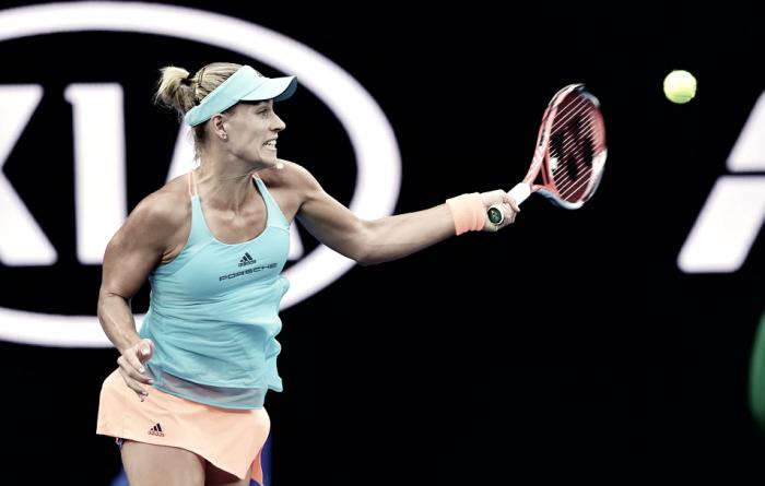 Australian Open 2017 - Kerber concede un set, ma doma Tsurenko