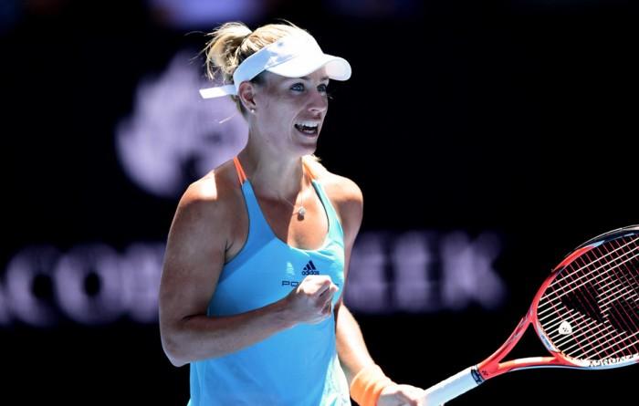 Australian Open 2017 - Kerber concede un set ma avanza, ok Venus, Bouchard e Kuznetsova