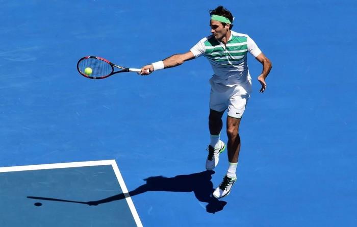 Australian Open 2016, Federer doma Dimitrov