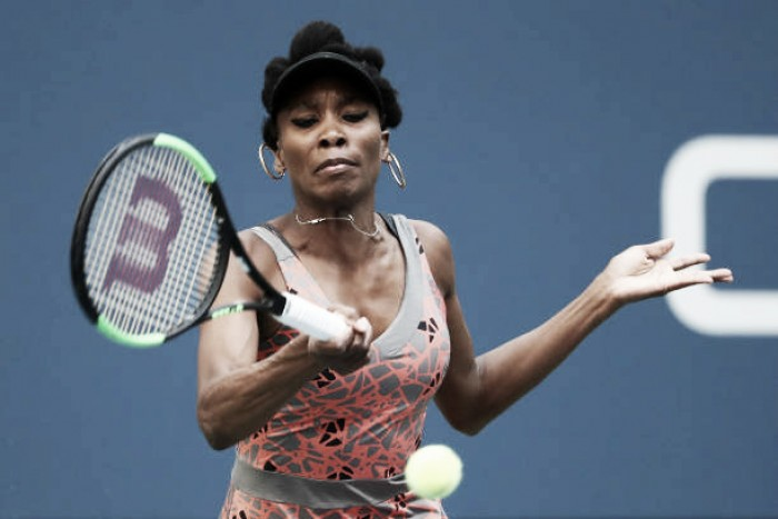 US Open: Venus Williams victorious over Maria Sakkari