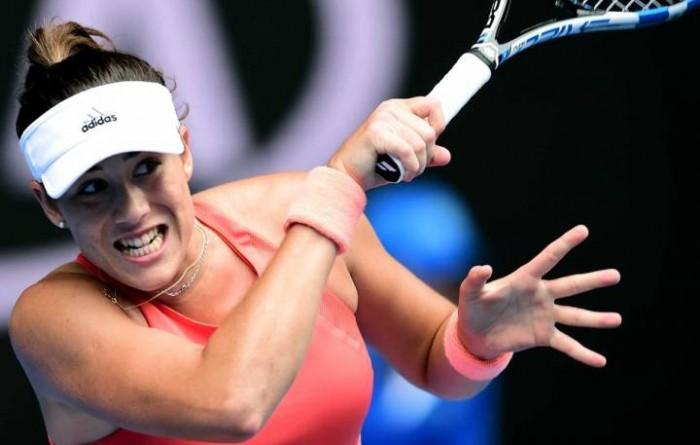 WTA Doha: Muguruza all'esame Petkovic, diverse sorprese in campo