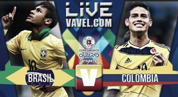 Resultado Brasil - Colombia en Copa América 2015 (0-1)