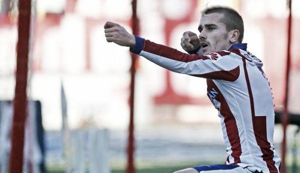 Griezmann lancia l'Atletico, doppietta e 3-1 al Levante