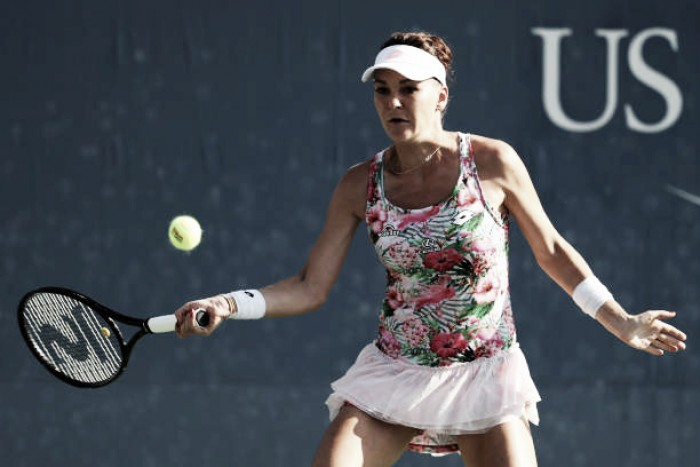 US Open: Agnieszka Radwanska holds off tricky Petra Martic