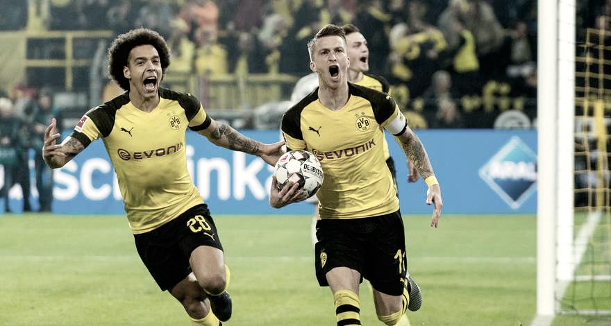 Gran victoria, gran juego y siete puntos de diferencia entre el Borussia Dortmund y el Bayern Múnich