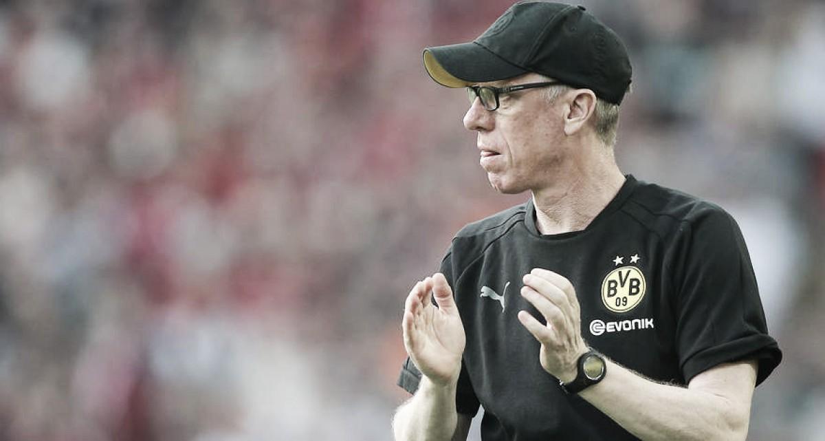 """Peter Stöger comemora vitória para aumentar confiança: """"Cada vitória é um grande passo"""""""