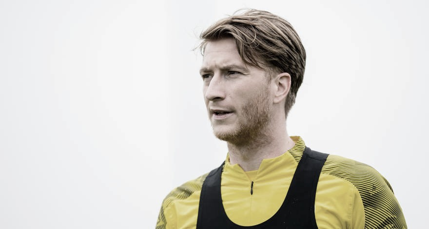 Marco Reus tem nova lesão e desfalca Borussia Dortmund por tempo indeterminado