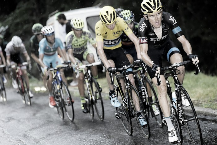 Geraint Thomas sheds some light on his former teammates
