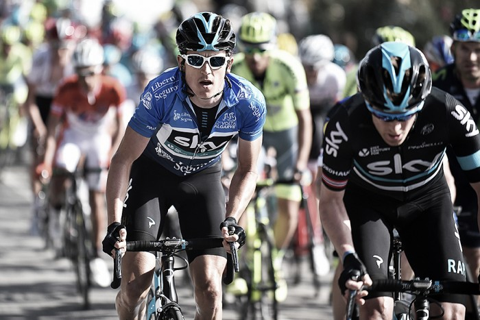 Geraint Thomas talks about Tour de France preparation