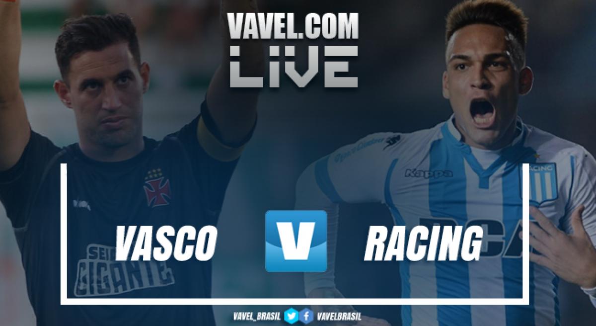 Resultados e gols de Vasco 1x1 Racing pela Copa Libertadores 2018