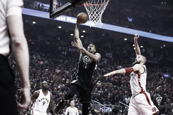 NBA playoffs, i Bucks sorprendono Toronto in gara-1 (83-97)