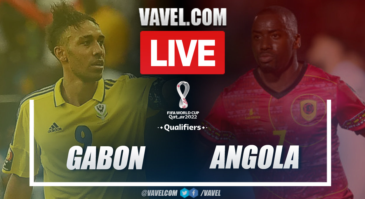 Goals and Highlights: Gabon 2-0 Angola in 2022 World Cup Qualifiers