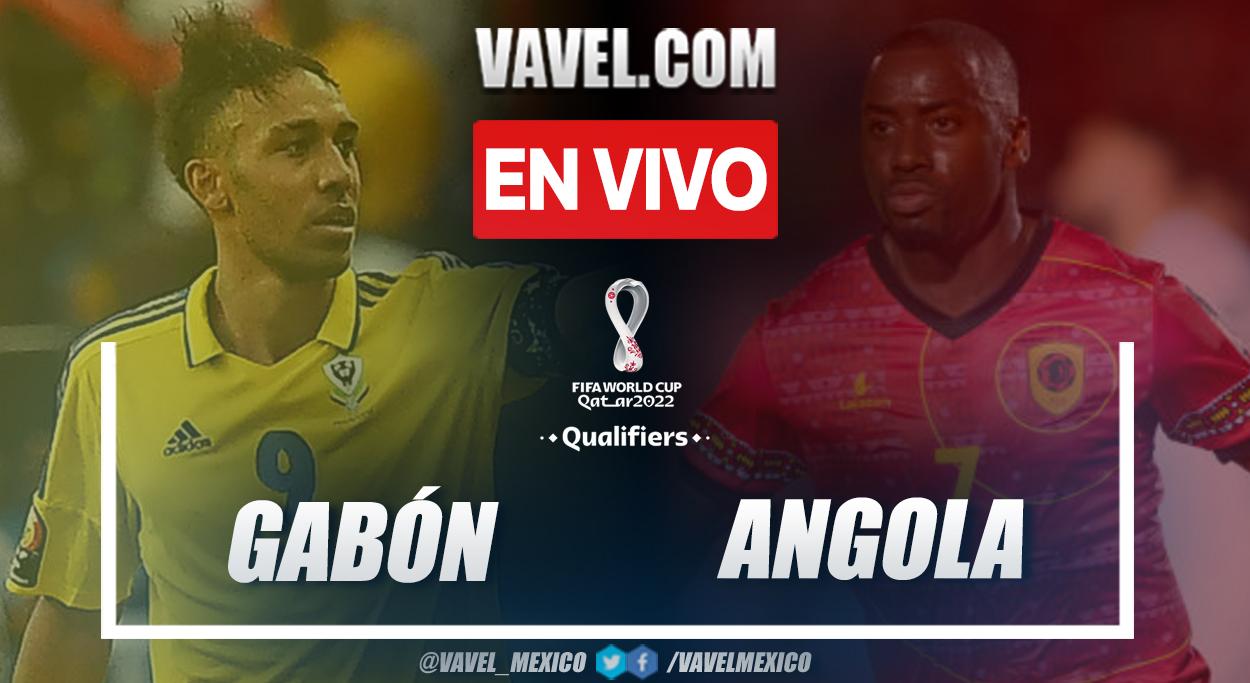 Resumen y goles: Gabón 2-0 Angola en la fecha cuatro por eliminatorias al Mundial 2022