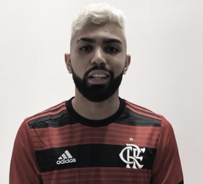 """Flamengo anuncia contratação de Gabigol: """"Faço parte da Nação"""""""