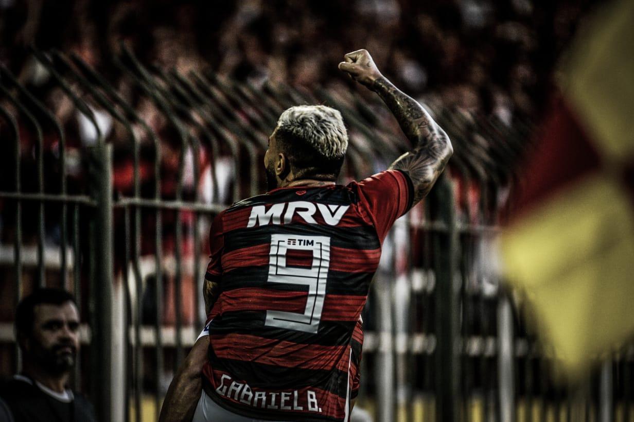 """Gabigol avalia sua primeira atuação com a camisa do Flamengo: """"Saio feliz"""""""