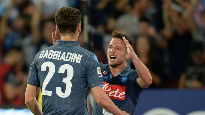 Risultato Crotone - Napoli, Serie A 2016/17 (1-2): Callejon poi Maksimovic, accorcia Rosi