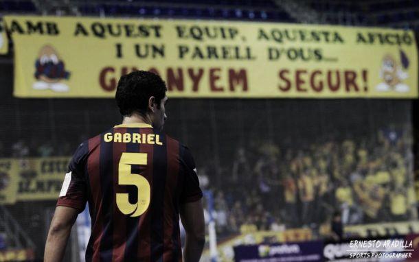 """Gabriel, """"El Profesor"""", seguirá un año más dando cátedra en el FC Barcelona Alusport"""