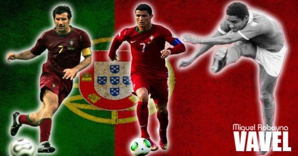 Tres generaciones, tres balones de oro, una deuda con Portugal