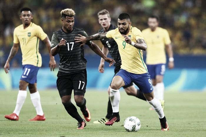 Gabriel Barbosa rejeita rivalidade e homenageia Fernando Prass após título olímpico