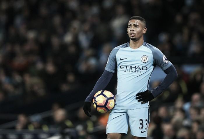 Gabriel Jesus admite raiva por gol anulado e vai guardar camisa da estreia pelo Man City