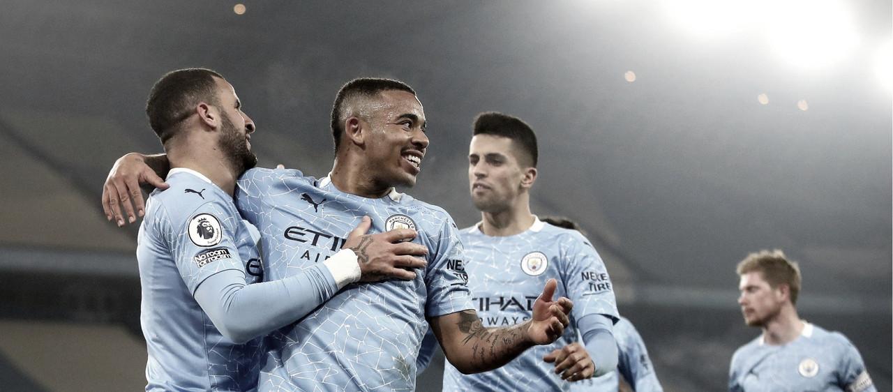 Imparável, Manchester City goleia Wolverhampton e dispara no topo da Premier League